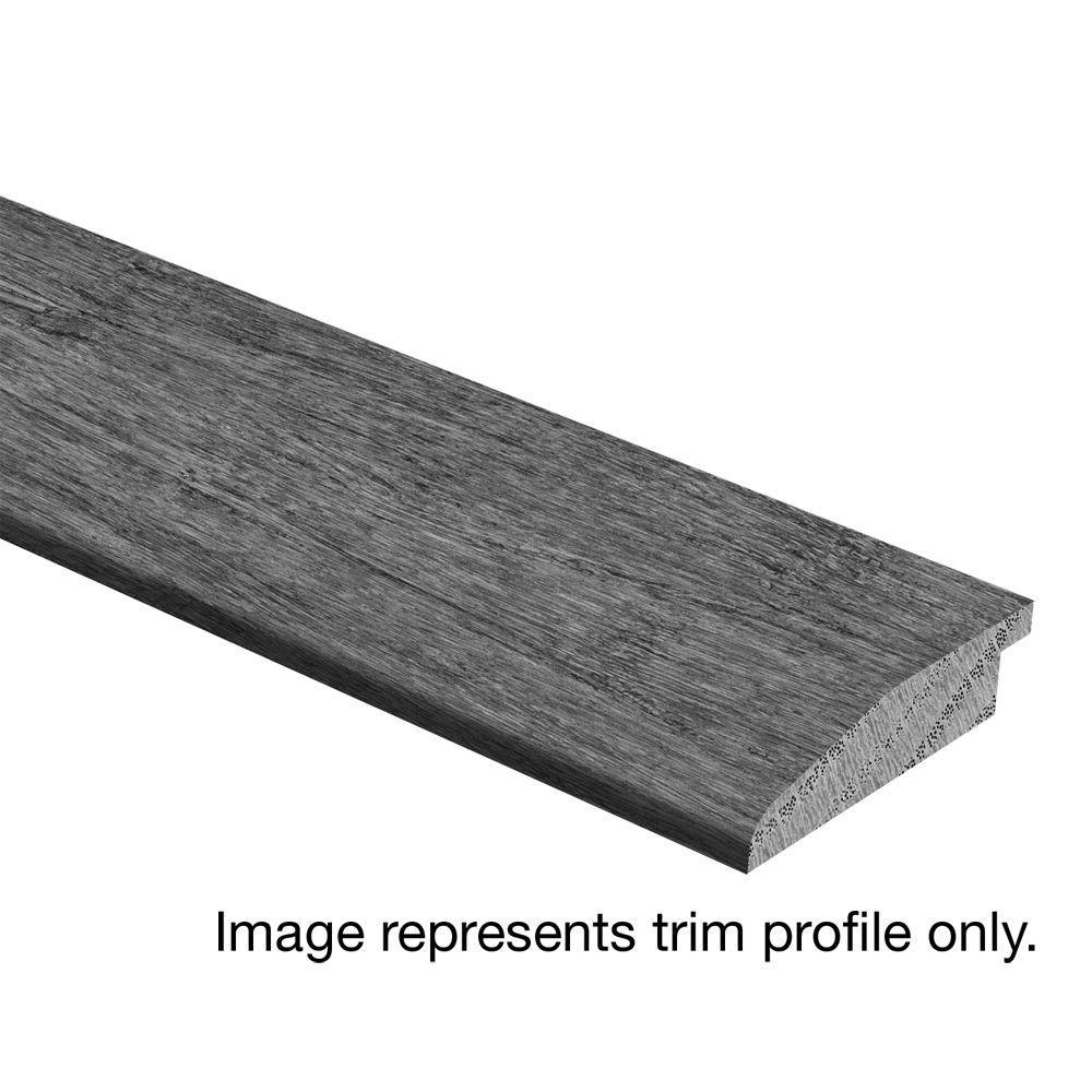 Zamma Jatoba Walnut Graphite 3/8 in. - 1/2 in. Thick x 1-3/4 in. Wide x 94 in. Length Hardwood Multi-Purpose Reducer Molding