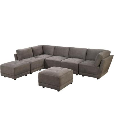 Ottoman Sectionals Living Room Furniture The Home Depot