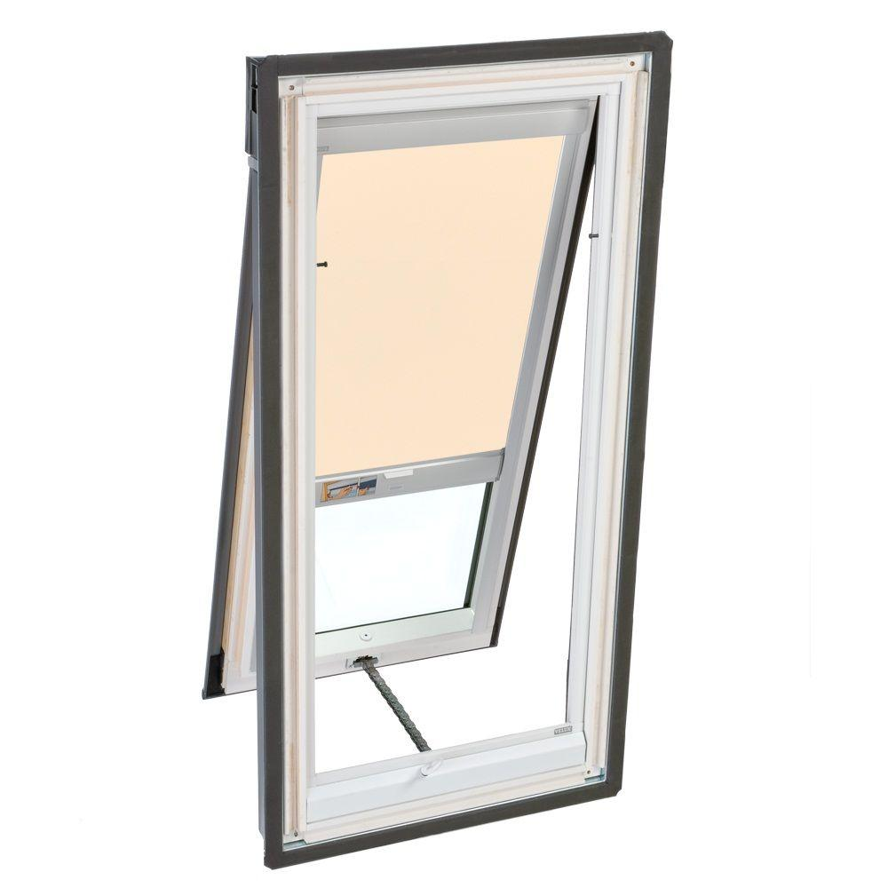 VELUX Beige Solar Powered Light Filtering Skylight Blind for VS/VSE/VSS C04 Models