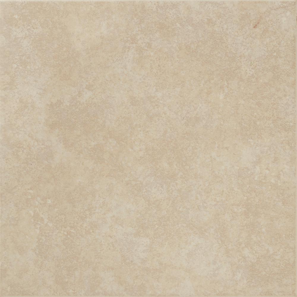 Trafficmaster Pacifica 12 In X Beige Ceramic Floor And Wall Tile
