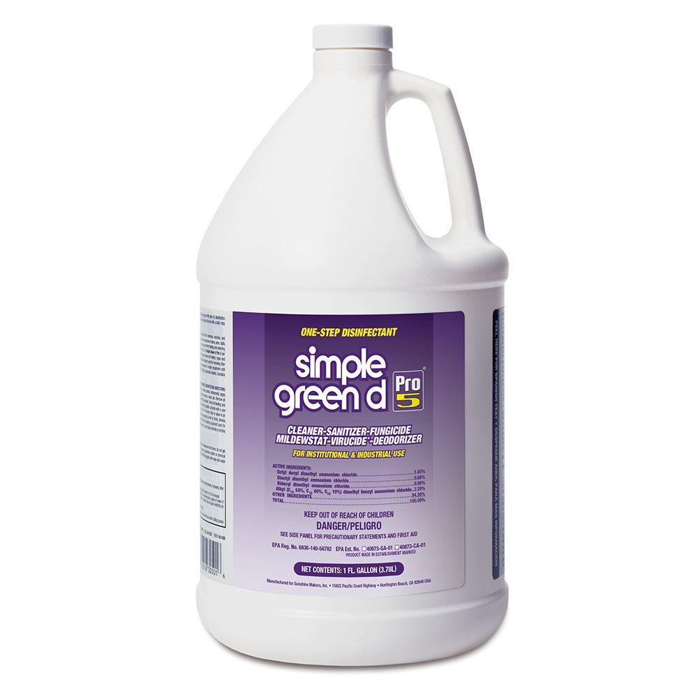 Simple Green Pro 5 1 Gal. Disinfectant (Case of 4)