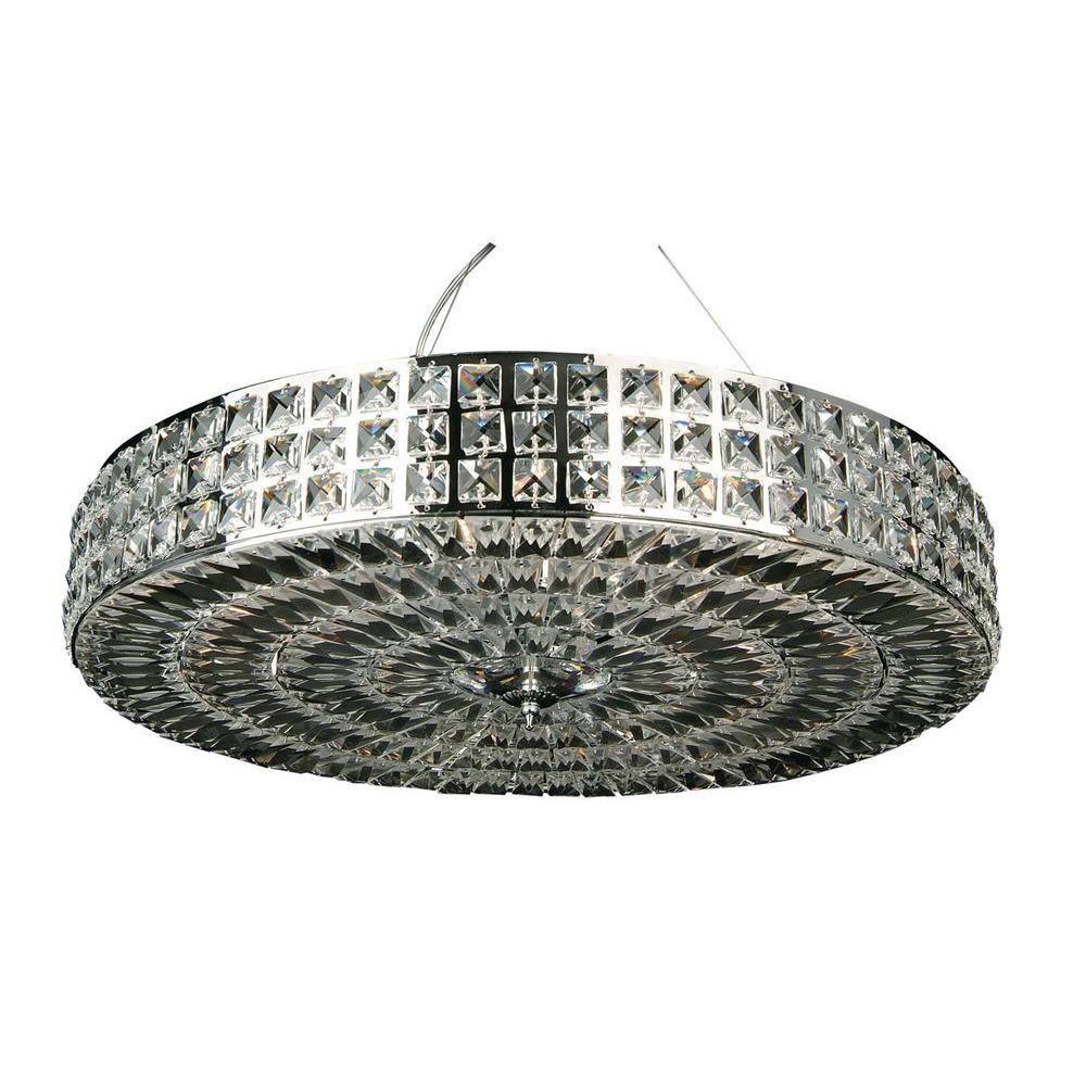 Filament Design Xavier 9-Light Chrome Pendant