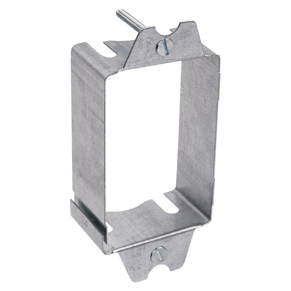 Extension Pigtail With Receptacle Box : Gang steel switch box extension case of sbex r