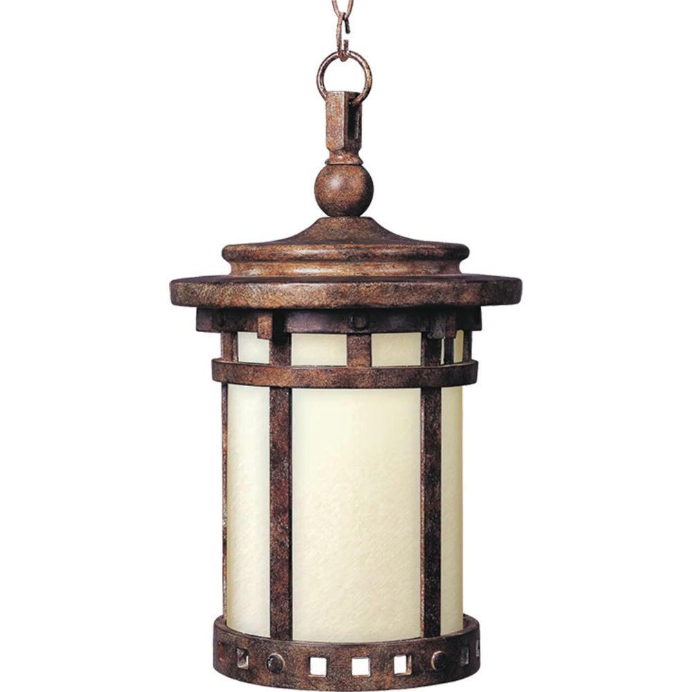 santa barbara lighting 3131cdse maxim lighting santa barbara ee 1light sienna outdoor hanging lantern