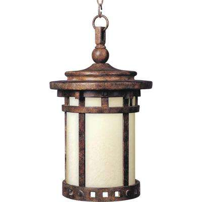 Santa Barbara EE 1-Light Sienna Outdoor Hanging Lantern
