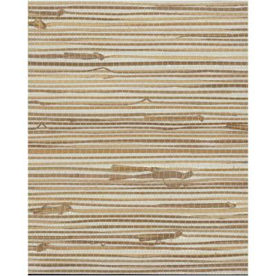 72 sq. ft. Grasscloth by York II Wide Knotted Grass Wallpaper