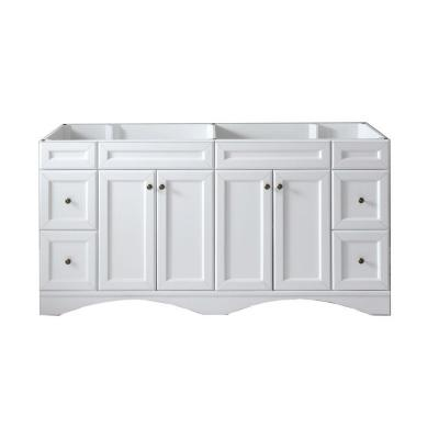 Talisa 71 in. W Bath Vanity Cabinet Only in White