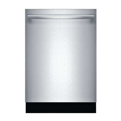 500 Series Top Control Tall Tub Bar Handle Dishwasher in Stainless Steel with Stainless Steel Tub, 44dBA