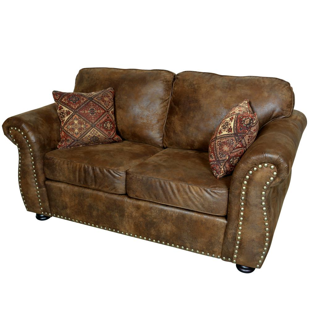 Leather Look Sofas Worn Look Leather Sofa Www Energywarden