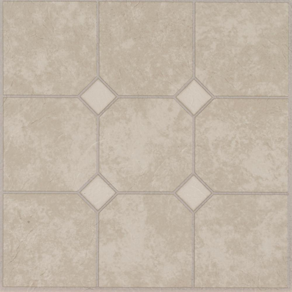 Rockport Marble Sand 12 in. x 12 in. Residential Peel and