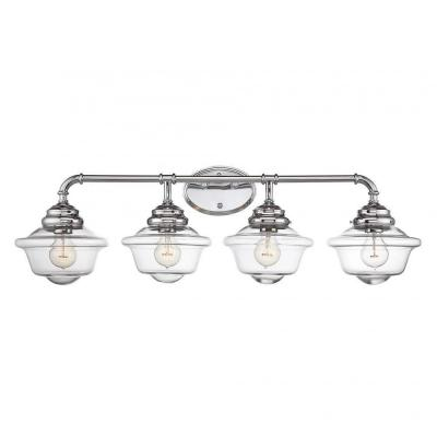McKay 4-Light Chrome Bath Vanity Light