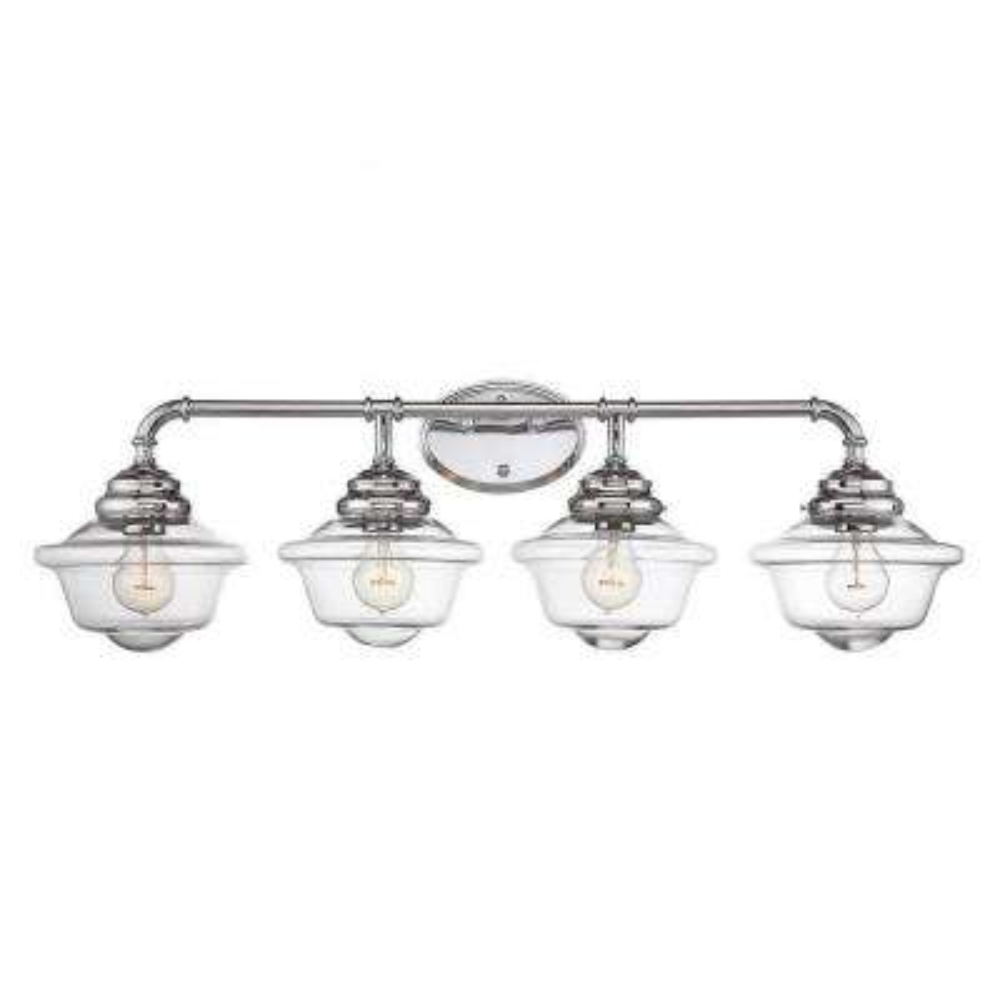 McKay 4-Light Chrome Bath Vanity Light