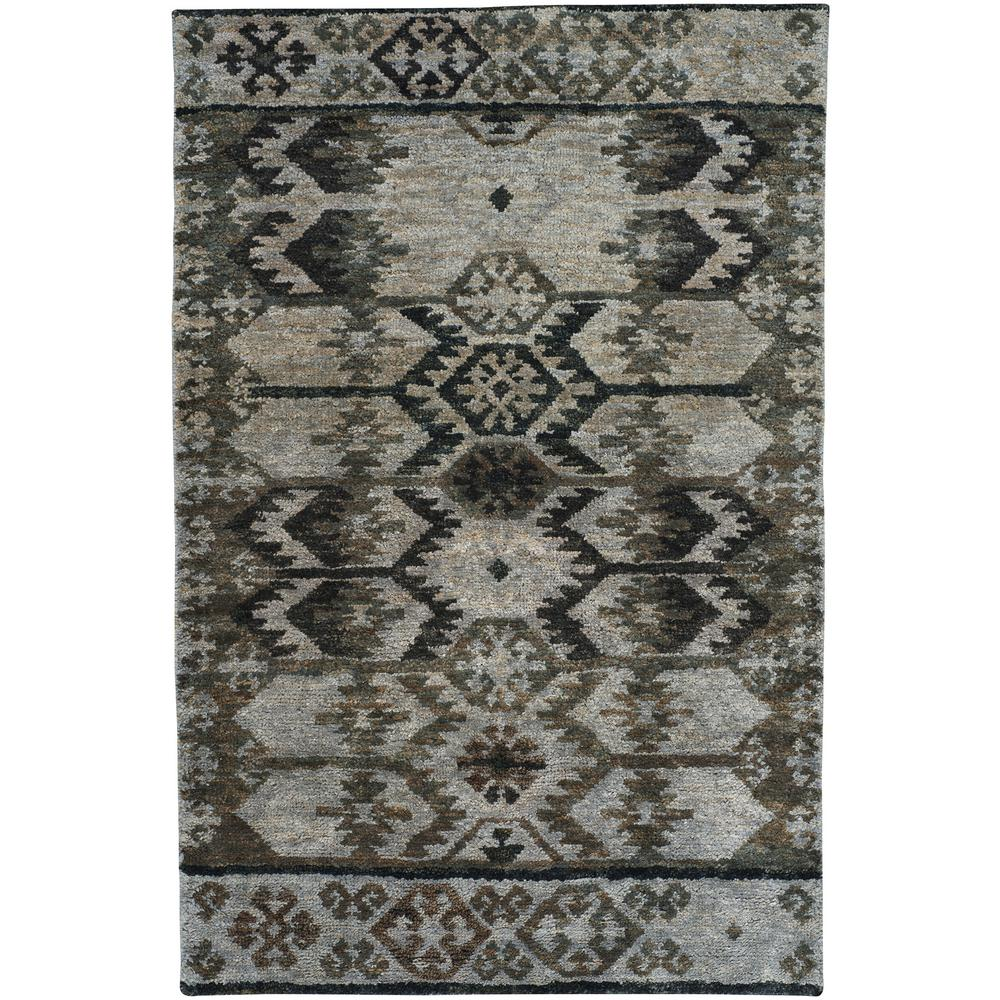 Capel Striation Natural Grey 9 Ft X 12 Area Rug