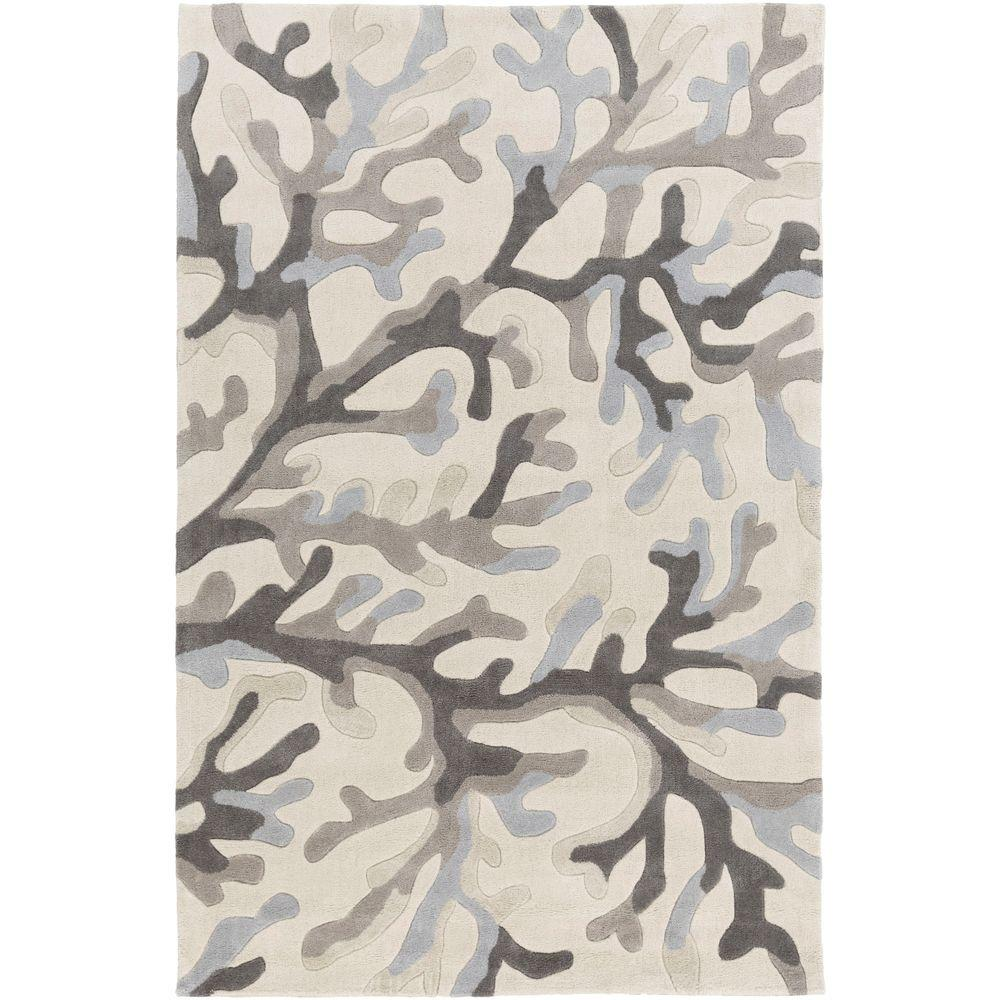 Lahore Gray 3 ft. 6 in. x 5 ft. 6 in.