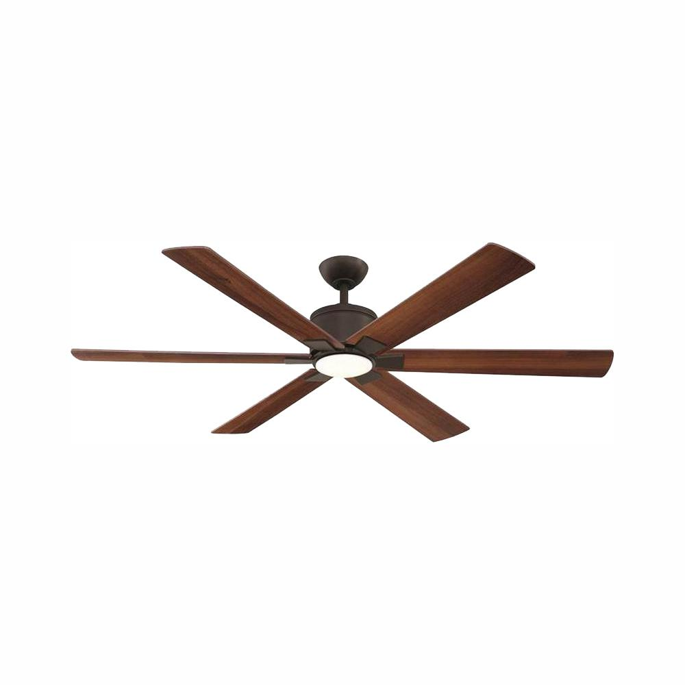 Home Decorators Collection Renwick 60 in. Integrated LED Indoor Oil Rubbed Bronze Ceiling Fan with Light Kit and Remote Control