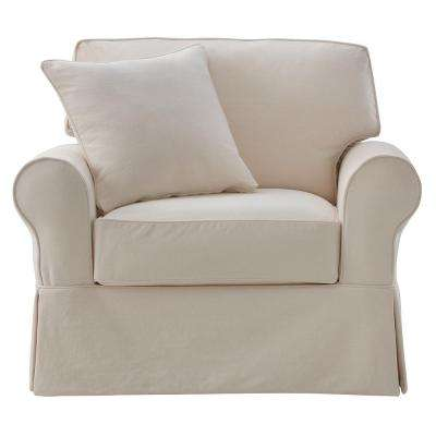 Mayfair Classic Natural Fabric Arm Chair