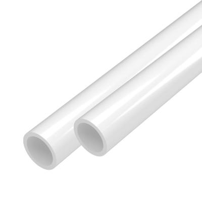 3/4 in. x 5 ft. White Furniture Grade Schedule 40 PVC Pipe (2-Pack)