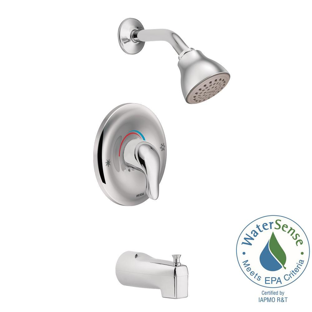 Moen Cau Watersense Posi Temp 1 Handle Tub And Shower