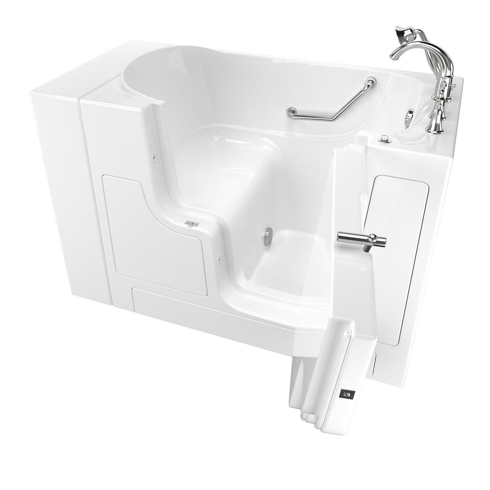 This Review Is From:Gelcoat Value Series 52 In.Right Hand Walk In Soaking  Tub With Outward Opening Door In White