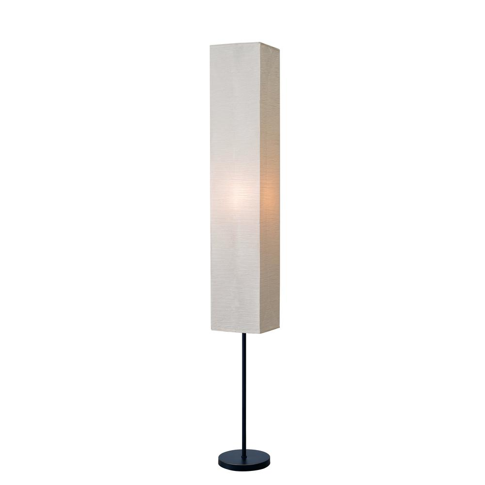 Attractive Kenroy Home Netherlands 62 In. Oil Rubbed Bronze Floor Lamp With White Shade