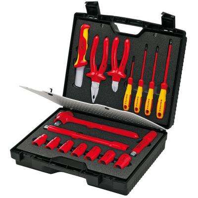 17-Piece 1,000-Volt Insulated Tool Kit