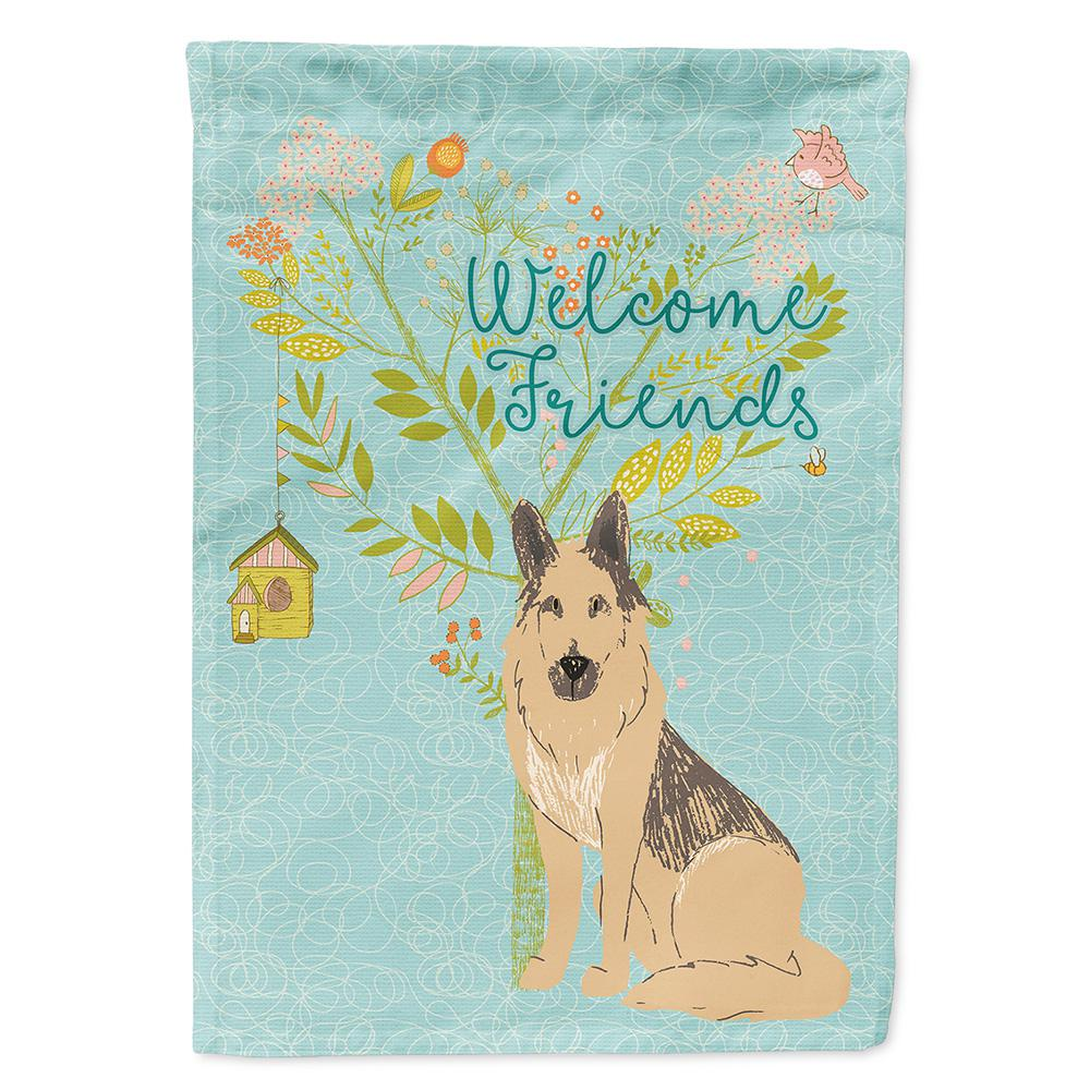 Carolines Treasures 11 In X 15 12 In Polyester Welcome Friends