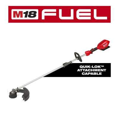 M18 FUEL 18-Volt Lithium-Ion Cordless Brushless String Grass Trimmer with Attachment Capability (Tool-Only)