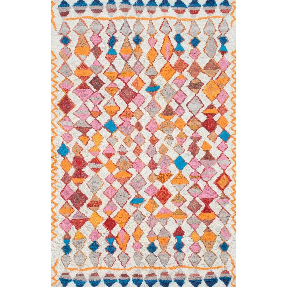 Nuloom Moroccan Helaine Gy Multi 5 Ft X 8 Area Rug
