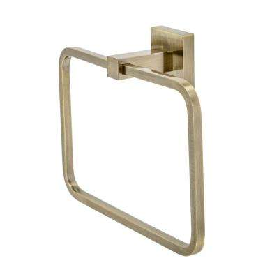 Capri Towel Ring in Bronze