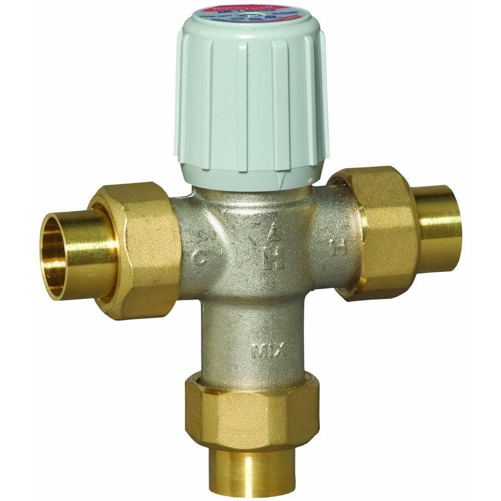 Honeywell Thermostatic Mixing Valve Piping Diagram