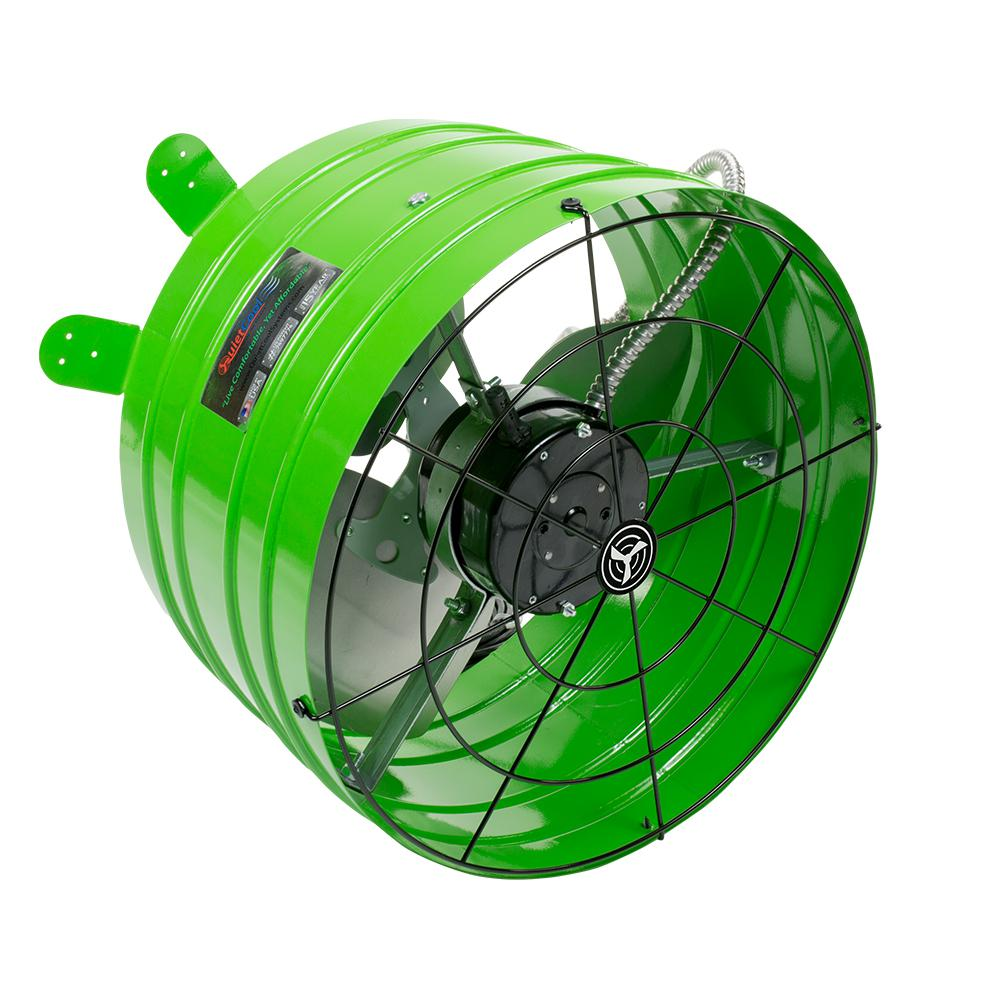 QuietCool Smart 2830 CFM Power Gable Mount Attic Fan