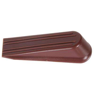 6 in. Brown Door Stop Wedge (5-Pack)