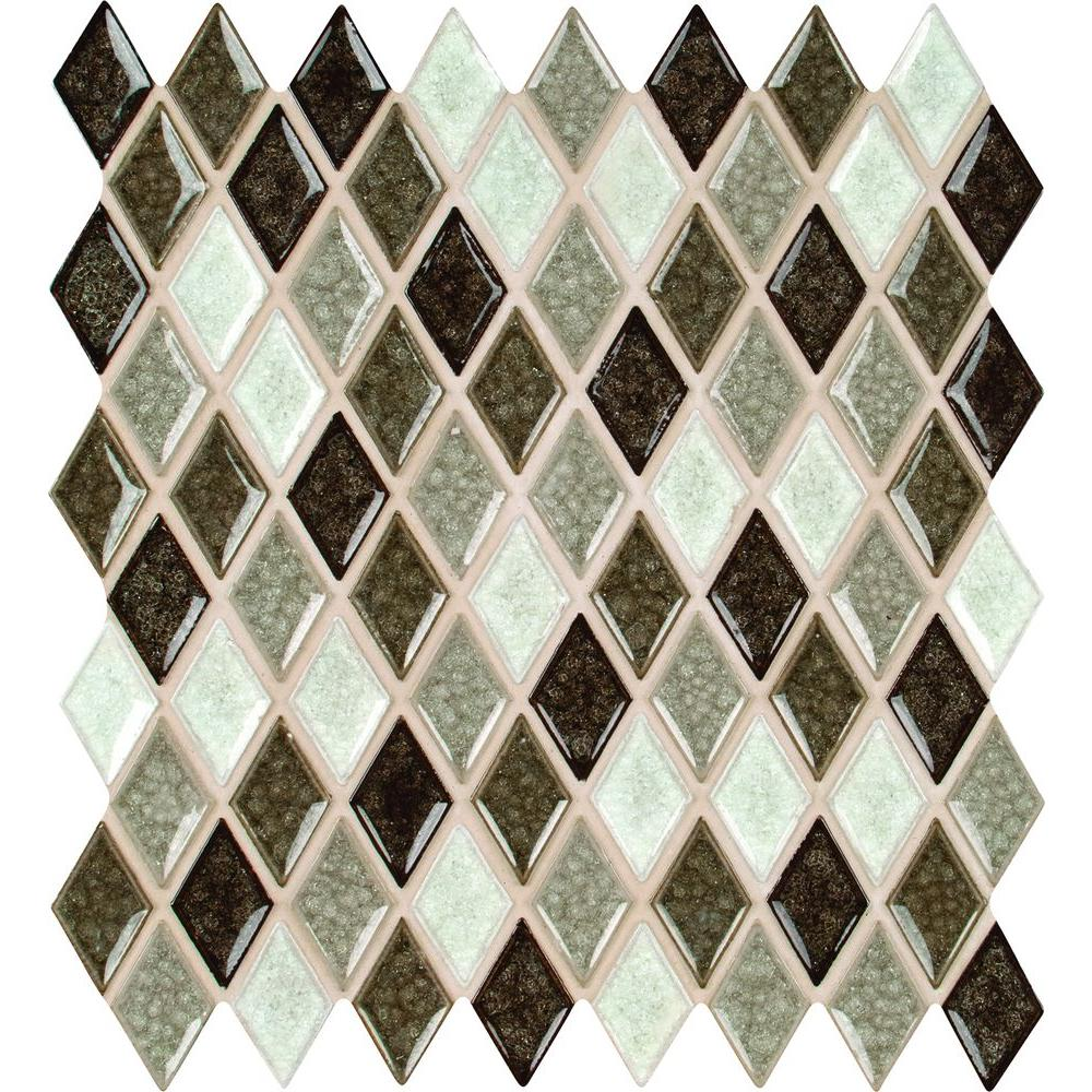 Kitchen Backsplash Tile At Home Depot: MS International Saddle Canyon Rhomboid 12 In. X 12 In. X