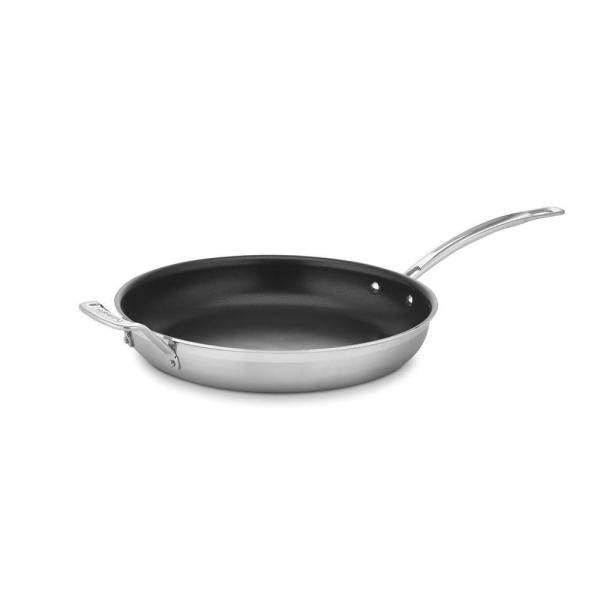 MultiClad Pro 12 in. Stainless Steel Nonstick Skillet
