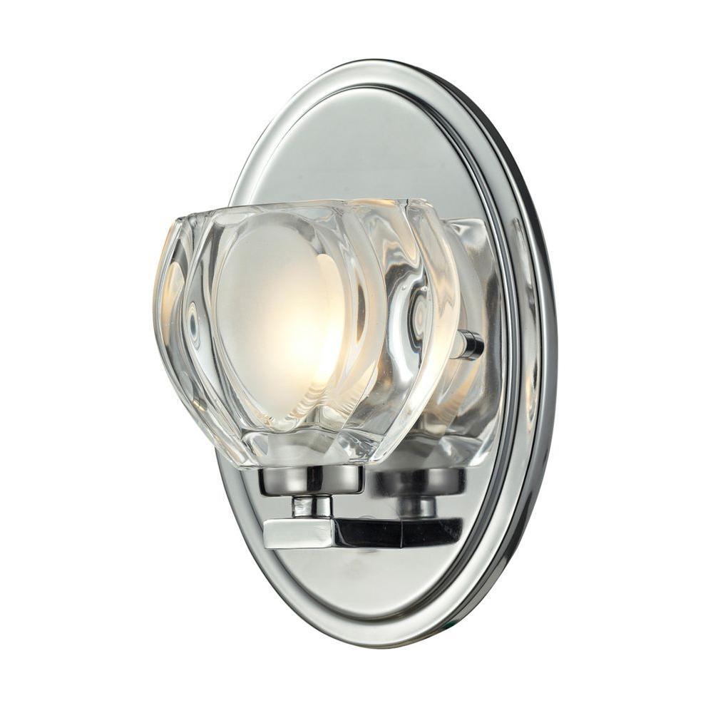 Suave 1-Light Chrome Bath Vanity Light