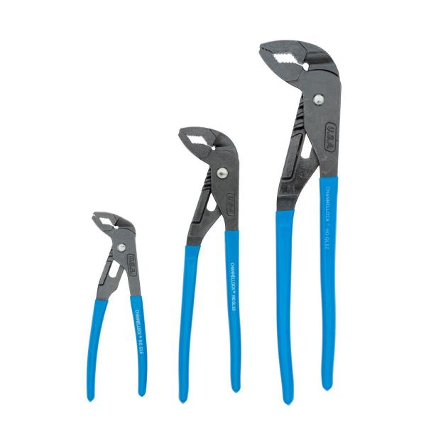 Tongue and Groove Plier Set (3-Piece)