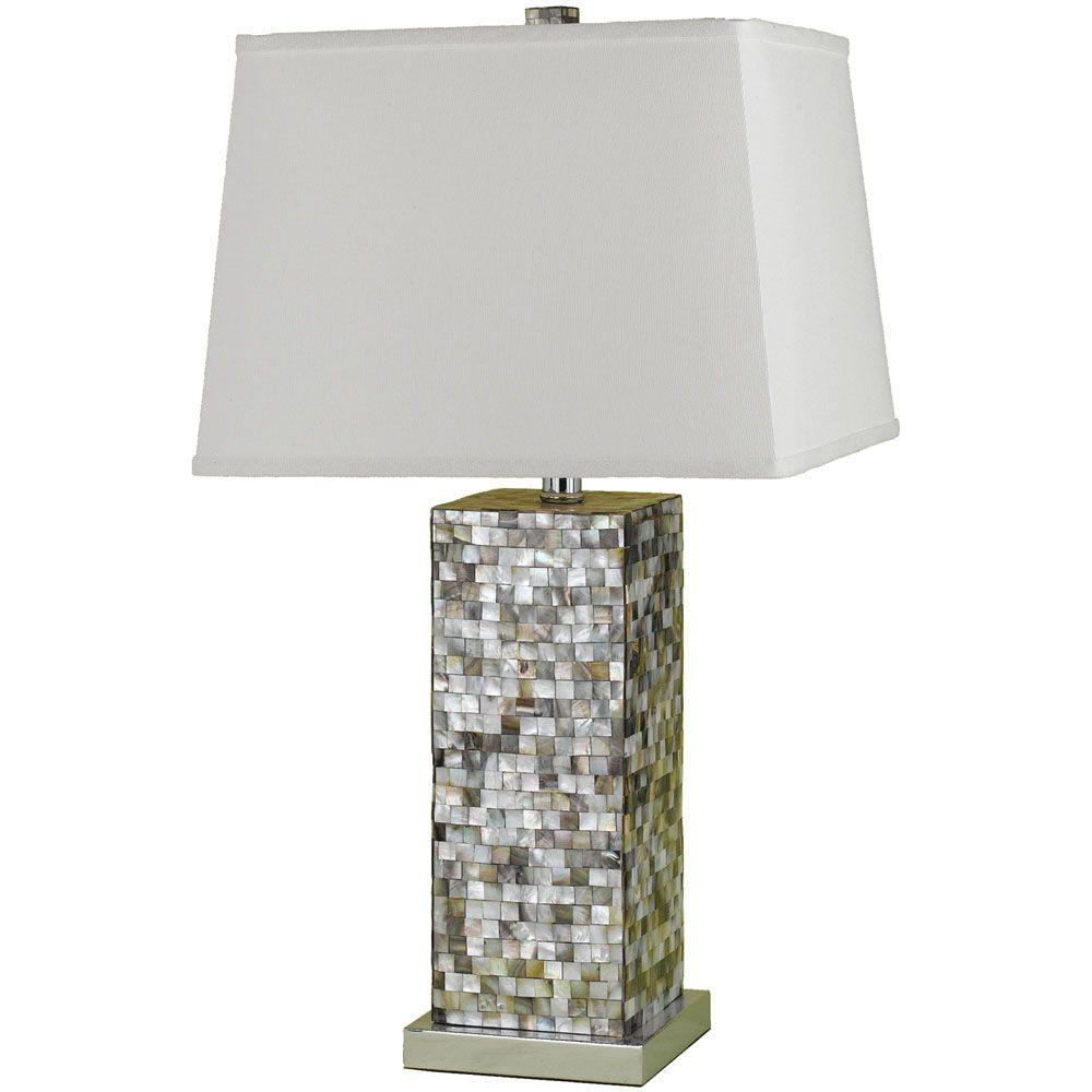 Merveilleux Chrome Table Lamp