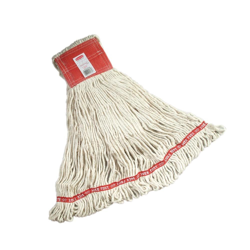 Large Web Foot Wet Mop with 5 in. Headband (Case of