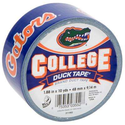 College 1-7/8 in. x 30 ft. University of Florida Duct Tape (6-Pack)