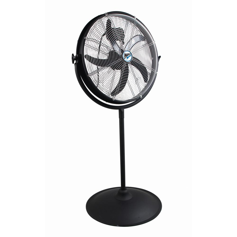 MaxxAir 20 in. Pedestal Fan with Outdoor Rating on