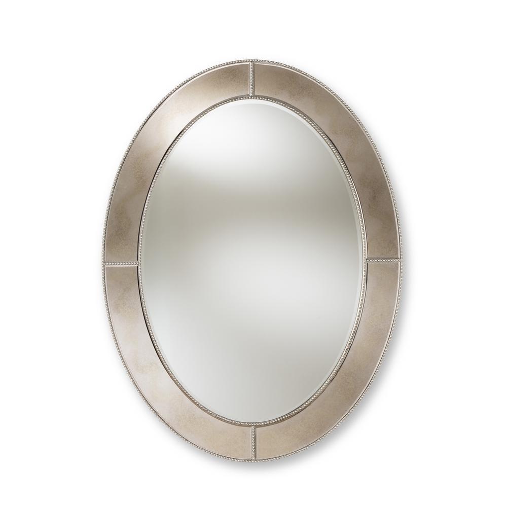 Branca Antique Silver Wall Mirror