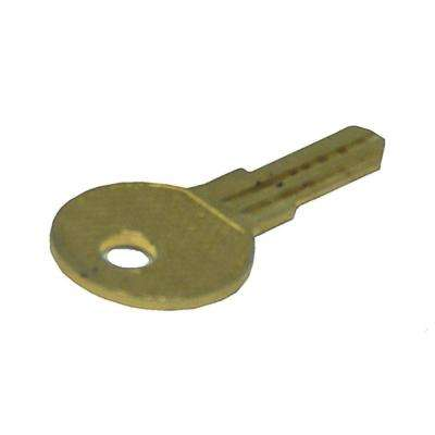 Double sided key specialty key keys keys accessories the key blank for sliding glass door locks 4 pack planetlyrics Image collections