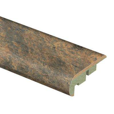 Canyon Slate Clay 3/4 in. Thick x 2-1/8 in. Wide x 94 in. Length Laminate Stair Nose Molding