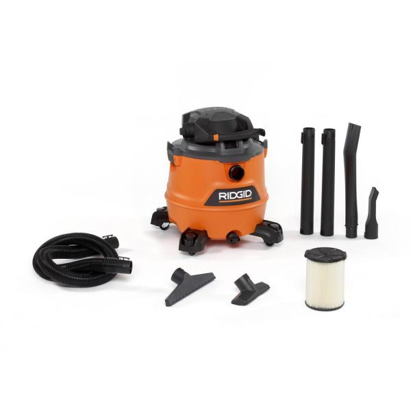 16 Gal. 6.5-Peak HP NXT Wet/Dry Shop Vacuum with Detachable Blower, Filter, Hose and Accessories