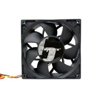 b-Blaster 140 mm x 38 mm 2-Ball Bearing High Speed 12-Volt DC Fan, Black