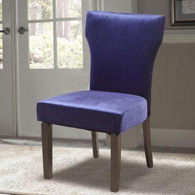 Cobalt Fabric Accent Chair