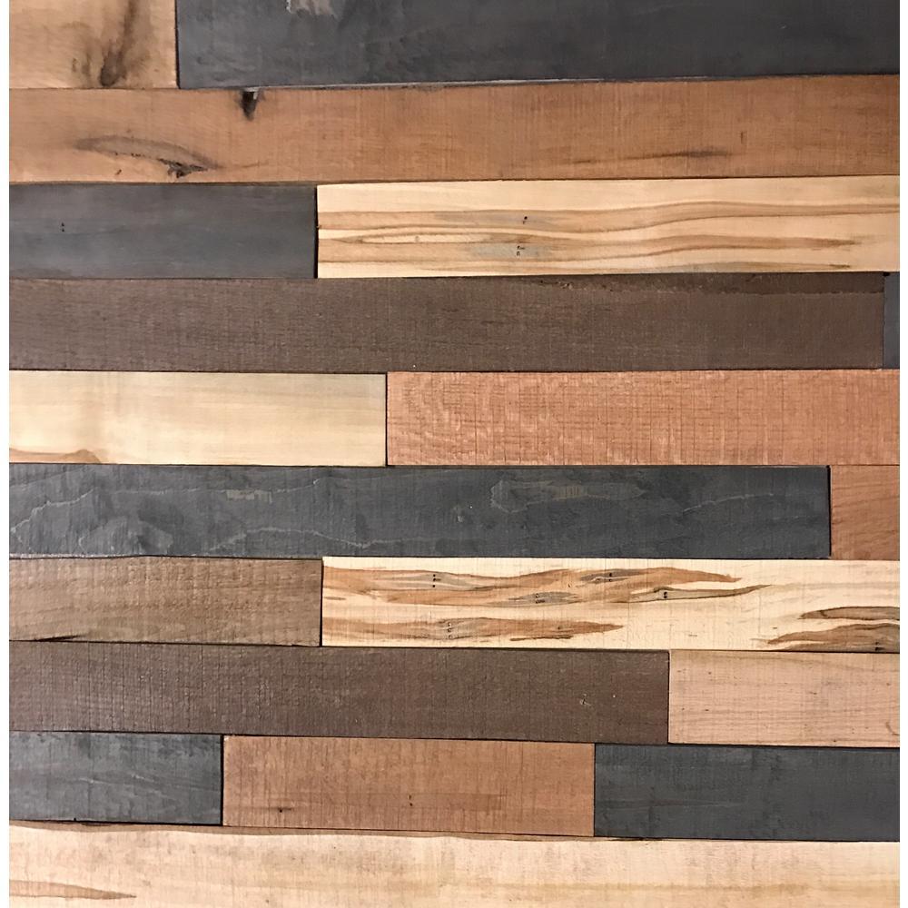 Wood Wall Planks: Shiplap Plank 0.5 In. H X 3.5 In. W X 1 Ft.
