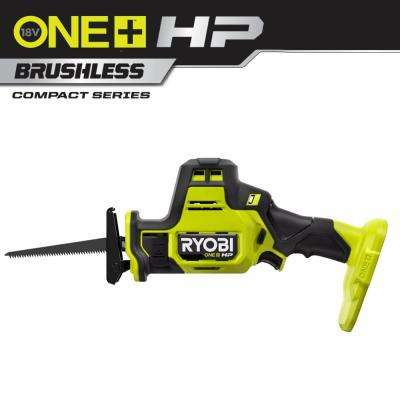 ONE+ HP 18V Brushless Cordless Compact One-Handed Reciprocating Saw (Tool Only)