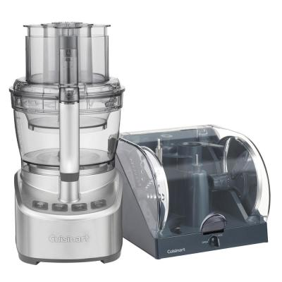 Elemental 13-Cup Stainless Steel Food Processor
