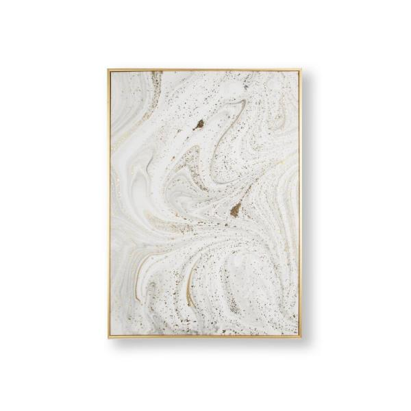 Graham & Brown Marble Luxe Framed Canvas Wall Art 105870